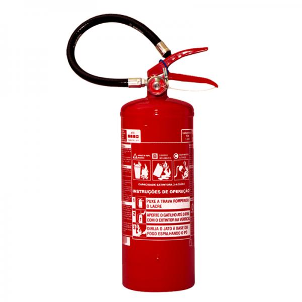 Recarga de Extintor Pó Químico ABC 4 KG - 10038