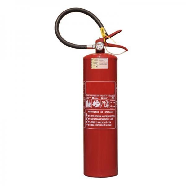 Recarga de Extintor Pó Químico ABC 6KG Veicular - 10036v