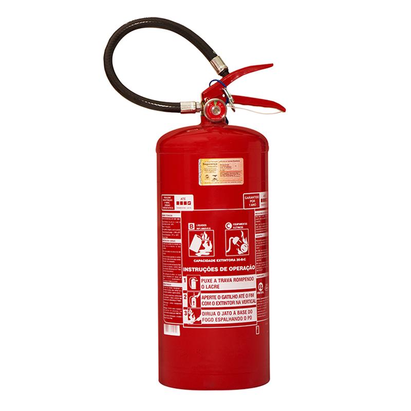 Extintor Pó Químico - BC - 04 KG - Base de Troca por Recondicionado - BR012