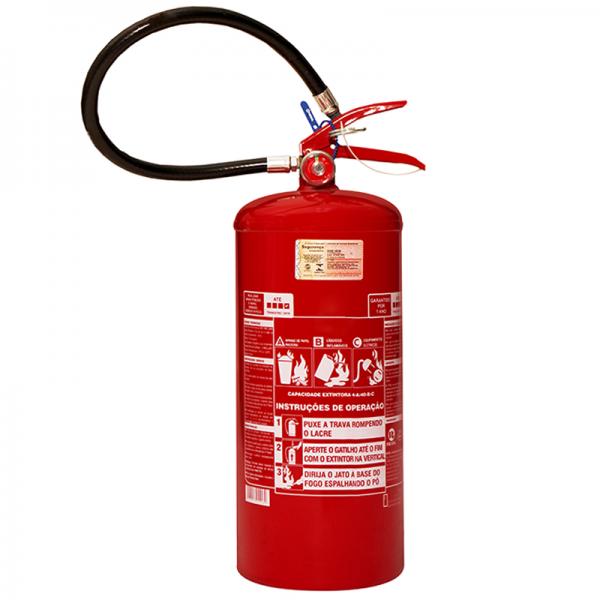 Recarga de Extintor Pó Químico ABC 08 KG - 10055