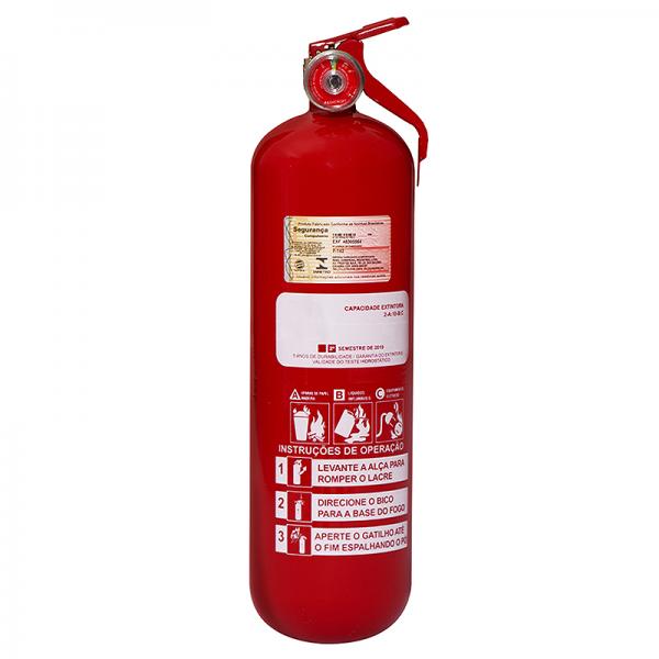 Recarga de Extintor Pó Químico ABC 2 KG Veicular - 10061