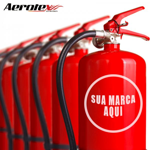 Personalização dos Extintores com Logo ou Nome da Contratante - 60024