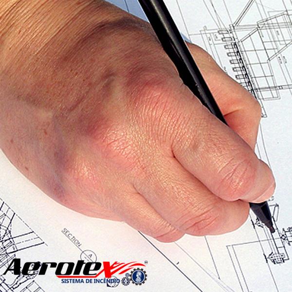 Projeto Técnico Simplificado de Combate a Incêndio - Lojas e Empresas 301 a 749 m² - 60256