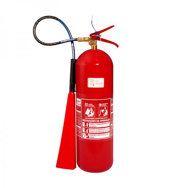 Extintor Gás Carbônico - 6kg -5BC - Base de Troca por Recondicionado - BR007