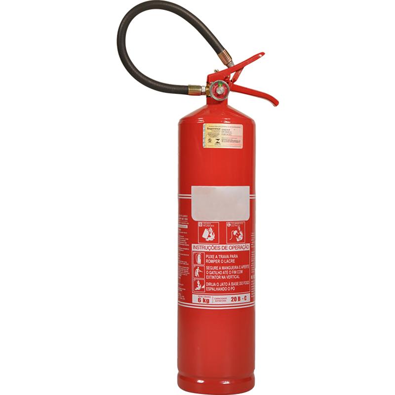 Extintor Pó Químico - BC - 06 Kg - Base de Troca por Recondicionado - BR013