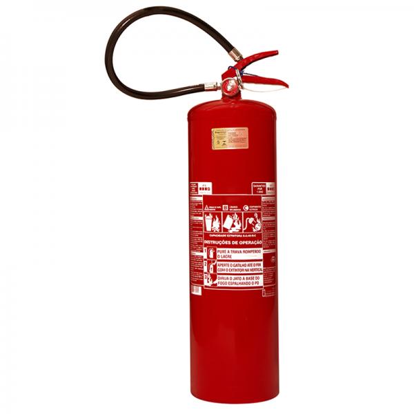 Recarga de Extintor Pó Químico ABC 12 KG - 10065