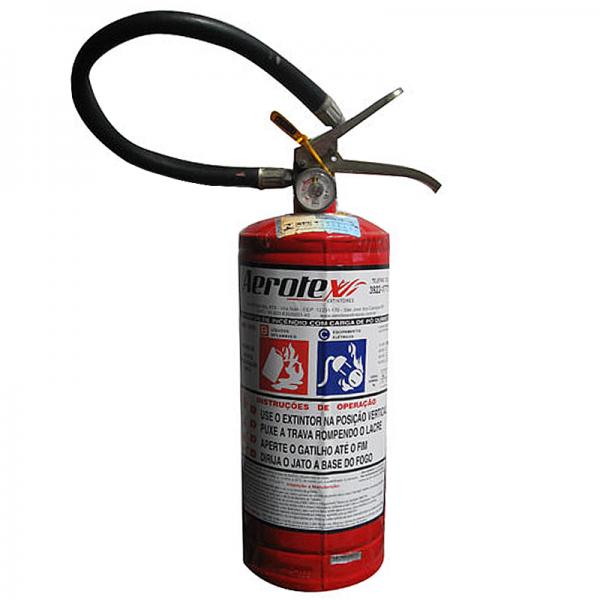 Recarga de Extintor Pó Químico BC 4 KG - 10006
