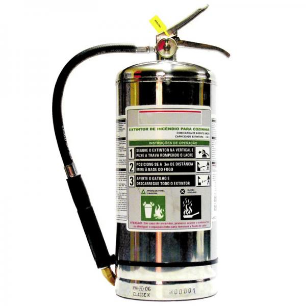 Recarga de Extintor Acetato de Potássio 06 Litros - 10075