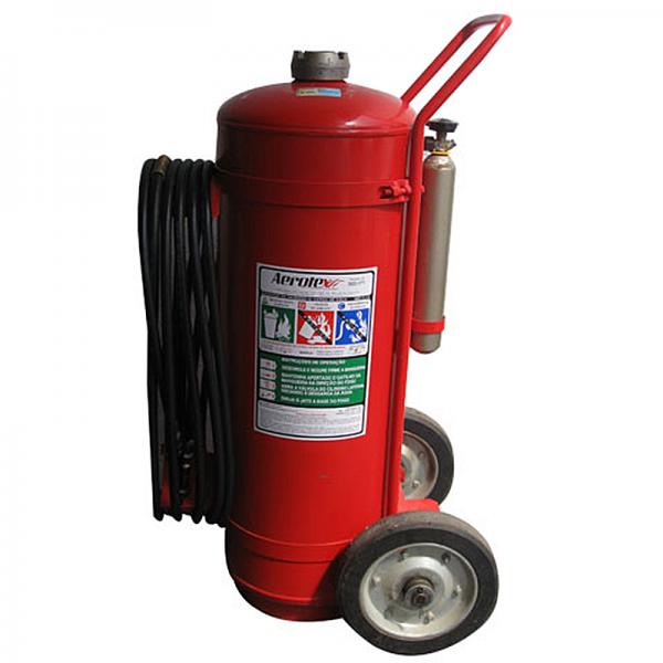 Recarga de Extintor Água Gás 75 litros - 10002