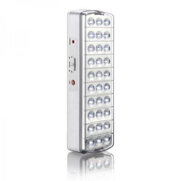 Luz de Emergência - 30 LED - Com Balizamento - ME192
