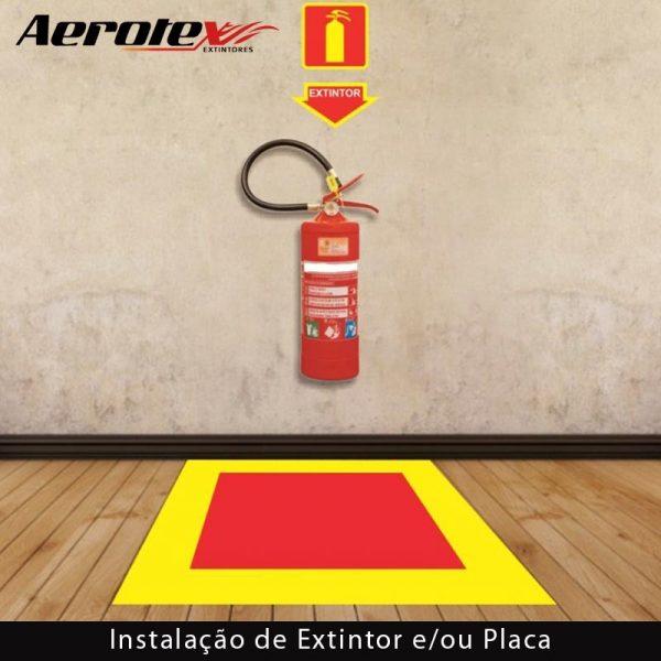 Instalação de Extintor e/ou Placa de Sinalização - 60017