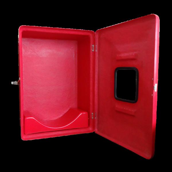 """Abrigo Mangueira Externo Fibra 75x45x18 1 Porta para 1 Mangueira 15m 1.1/2"""" - MH112"""