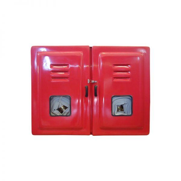 """Abrigo Mangueira Externo Fibra 90x120x18 2 Portas para 4 Mangueiras 15m 1.1/2"""" - MH275"""