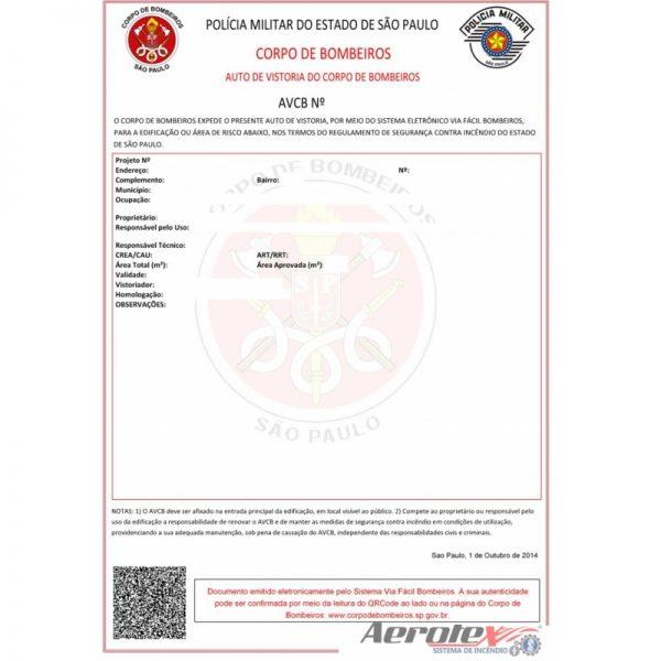 Emissão e/ou Regularização de A.V.C.B Auto de Vistoria do Corpo De Bombeiro - 60045