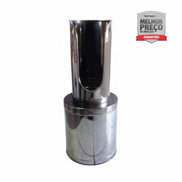 Suporte de Extintor - Aço Inox - Modelo ''Torre'' AP / CO² / PQS 8 a 12kg - CS013