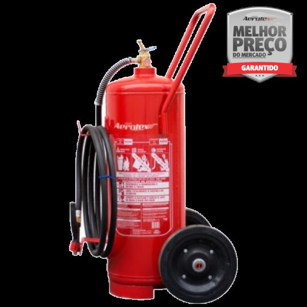 Extintor ÁGUA - A - CARRETA (sobre rodas) - 10A - EN002 - 75lts
