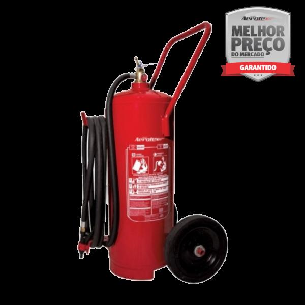 Extintor Pó - BC - Carreta Press Direta - 80BC - EN055 - 50 KG