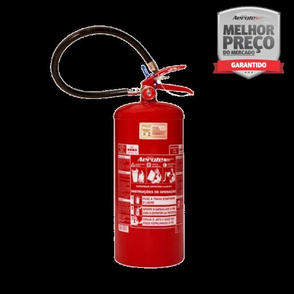 Extintor PÓ ABC - PORTÁTIL - 4A-30BC - 8Kg - uso Residencial - Comercial - Industrial - EN011