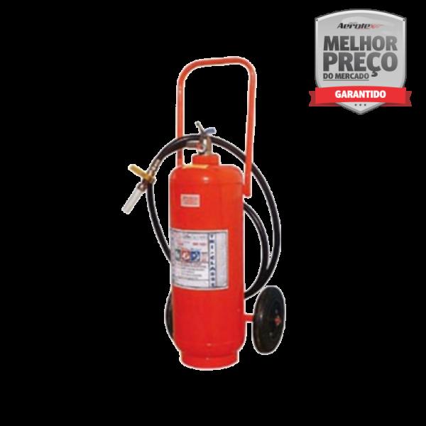 Extintor ABC - Sobre Rodas Pó - 6A-80BC - EN061 - 30 Kg - Uso Comercial - Industrial