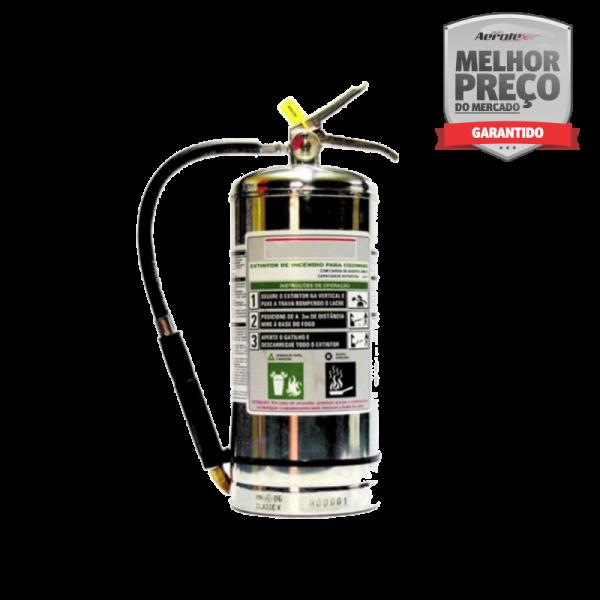 Extintor Classe K Portátil - EN046 - 6 litros