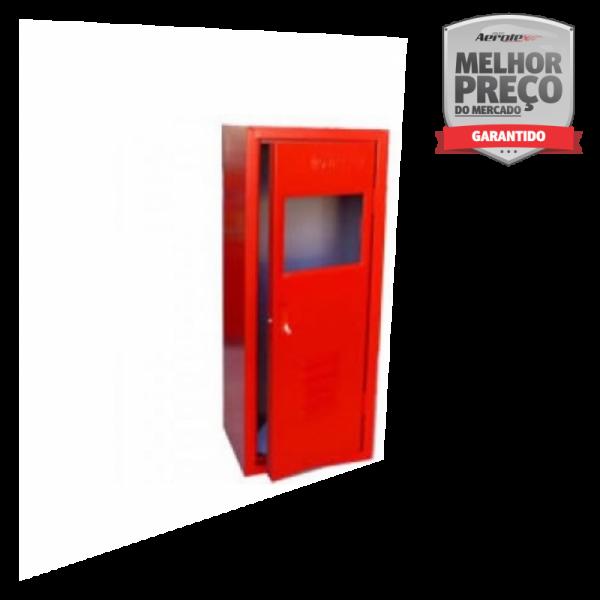 Abrigo para Extintor - 85 x 40 x 30 cm - Externo - Visor Vazado - Comporta 1 Extintor - AP/CO2/PQS 12kg - MH500