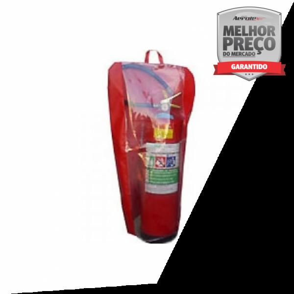 Capa para Extintor - Lona Reforçada - AP/PQS 12kg e CO2 6kg - 73 x 40 CM - CD029