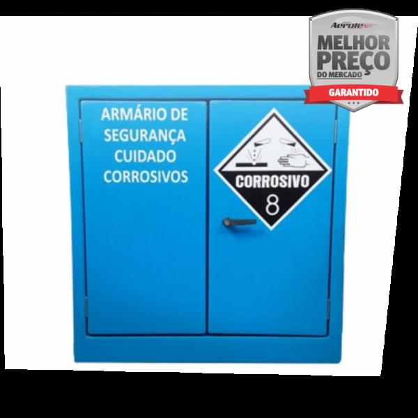 Armario de Segurança para Liquidos Corrosivos - Fibra de Vidro