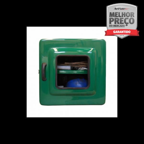 Armário em Fibra para EPI's e Medicamentos Externo 40x40x30 - MH347