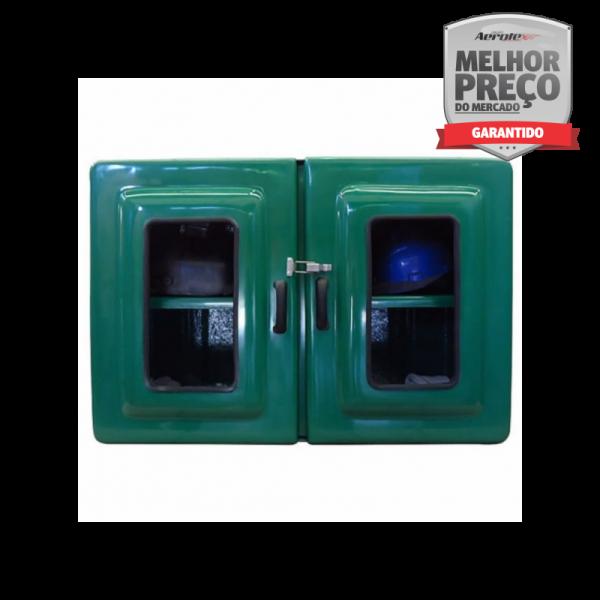 Armário em Fibra para EPI's e Medicamentos Externo 60x90x30 - MH344