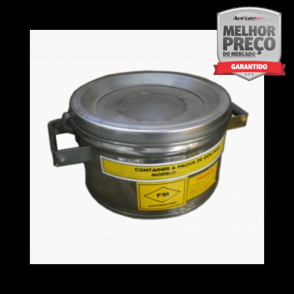 Conta Gotas - Anti Explosão - Aço Inox AISI 304 5 Litros - MH396