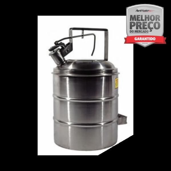 Container Anti-Explosão - Aço Inox AISI 304 - 18L - MH386
