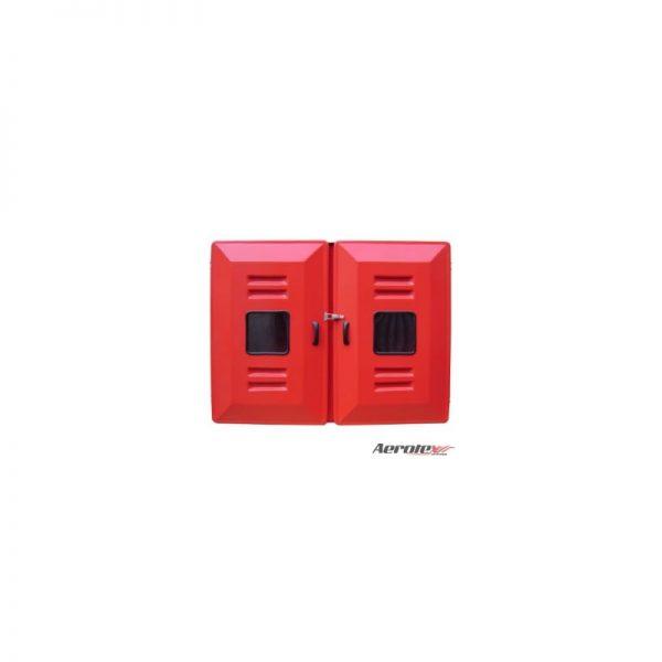 """Abrigo Mangueira Externo Fibra 90x120x18 2 Portas para 2 Mangueiras 30m 2.1/2"""" - MH496"""