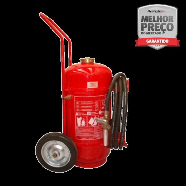 Extintor Pó Químico ABC 50 KG - 10A 80BC - Direta Carreta - EN071