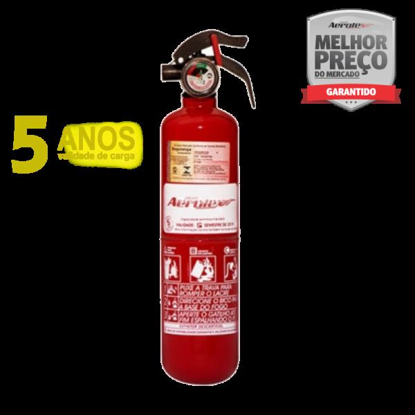 Extintor Pó - ABC - VEICULAR E MARÍTIMO - 1A-5B - EN035 - 1Kg - Uso Veicular - Linha Ford