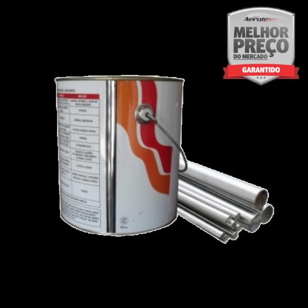 Tinta Anti Chama para Estrutura metálica 18 Litros 30 min Exposição Cor Branco - TC031