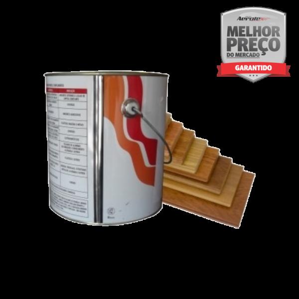 Verniz Anti Chama Incolor 3,6 Litros para Madeira - Classe a 30 min exposição - TC001
