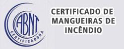 Certificado de Mangueiras de Incêndio - Certificados da Aerotex
