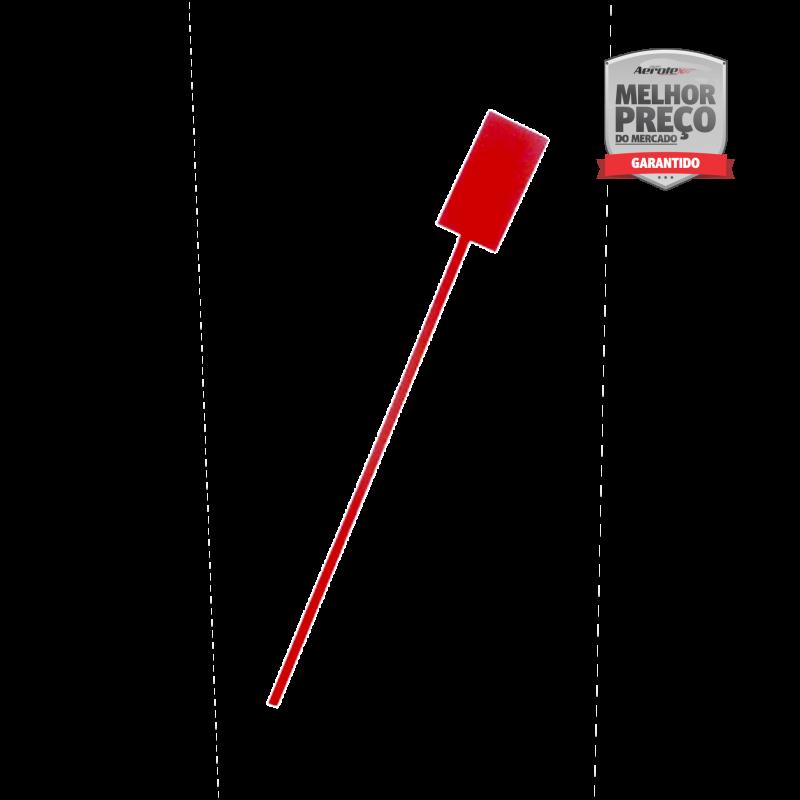 Suporte de Extintor - Tripé Vermelho - 4/6 KG PQS - Com Haste de Sinalização - CS215