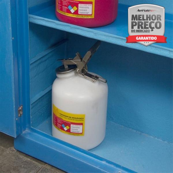 Armario de Segurança para Liquidos Corrosivos - Fibra de Vidro - MH379