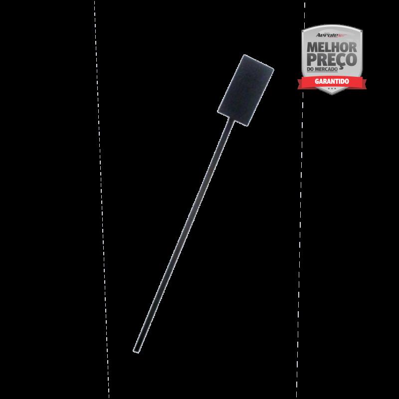Suporte de Extintor - Tripé Preto - 8 até 12 kg PQS CO2 AP Com Haste de Sinalização - CS216