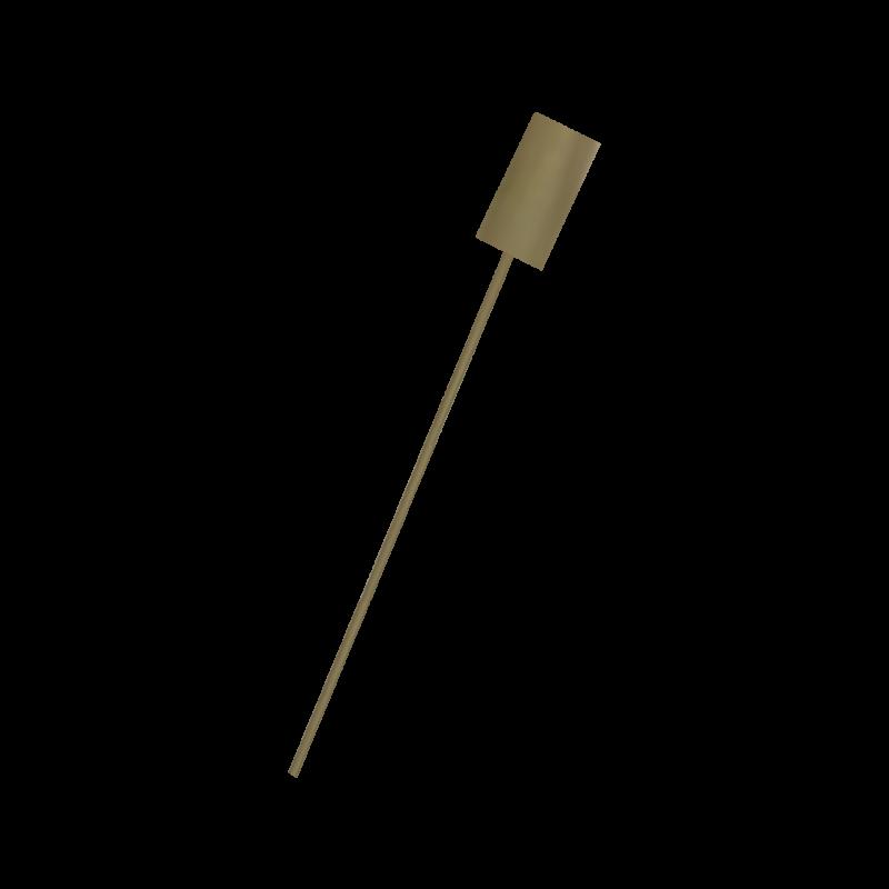Suporte De Extintor Tripé Bicromatizado - 8 a 12kg CO2 / AP / PQS Com Haste de Sinalização- CS189