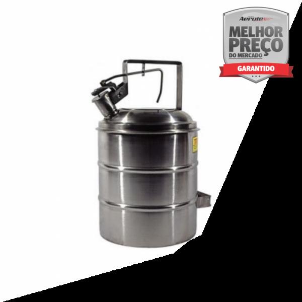 Container Anti-Explosão - Aço Inox AISI 304 - 5L - MH384