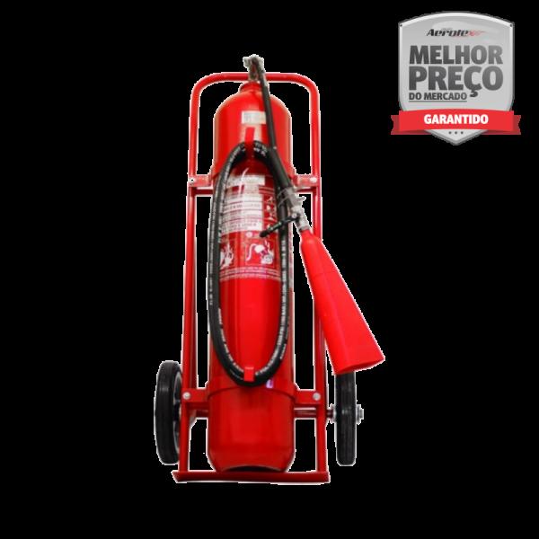 Extintor de Incêndio Sobre Rodas CO² BC 50kg / 10 BC - EN049