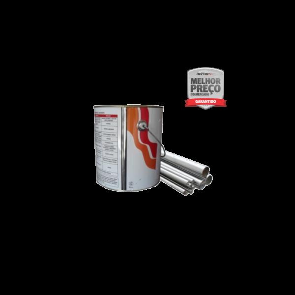 Tinta Anti Chama - Estrutura metalica branca - 4 litros - TC091