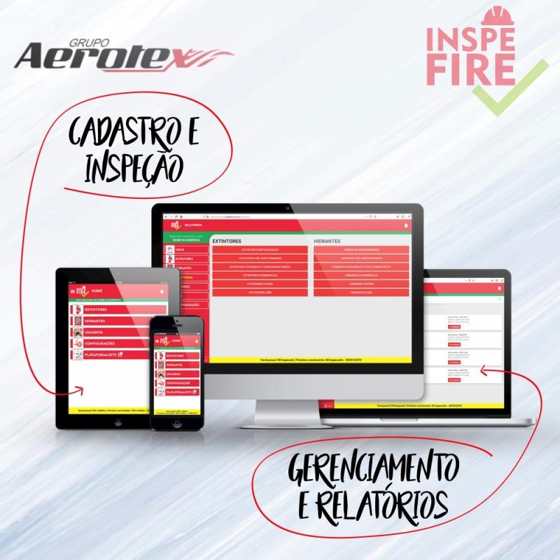Inspefire Aplicativo e Site
