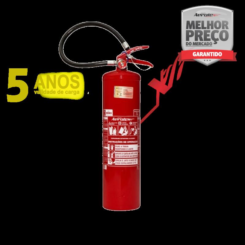 Extintor PÓ ABC LINHA GOLD - PORTÁTIL - 3A-20BC - 6Kg - Uso Residencial - Comercial - Industrial - EN088 ( Garantia 05 anos)