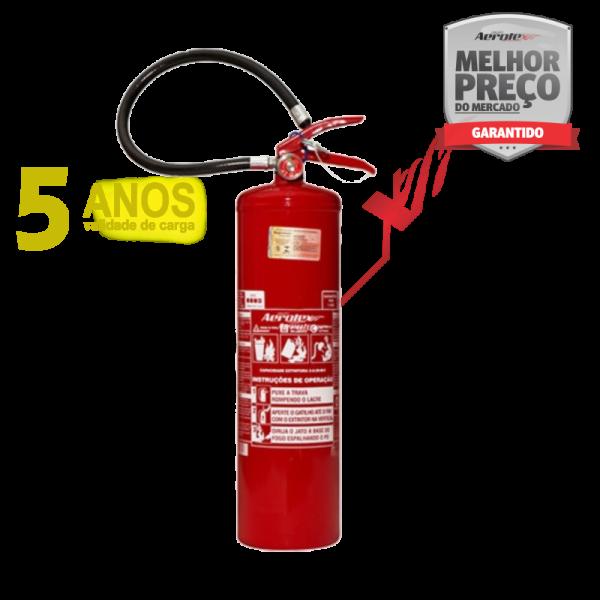 Extintor PÓ ABC LINHA GOLD - PORTÁTIL - 6A-40BC - 12Kg - uso Residencial - Comercial - Industrial - EN081 ( Garantia 05 anos)