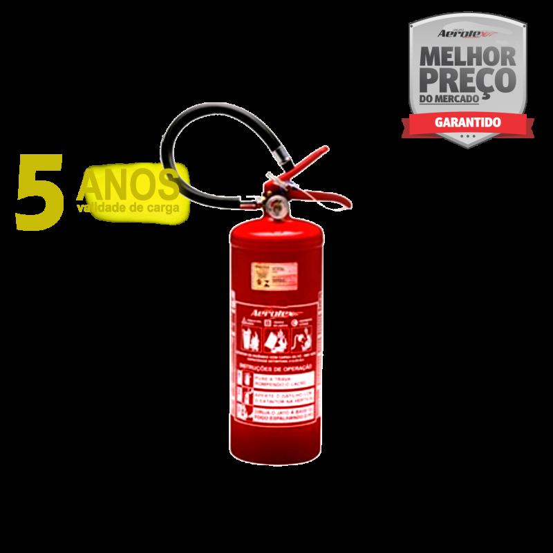 Extintor Pó ABC LINHA GOLD - PORTÁTIL - 2A-20BC - 4Kg - uso Residencial - Comercial - Industrial - EN087( Garantia 05 anos)