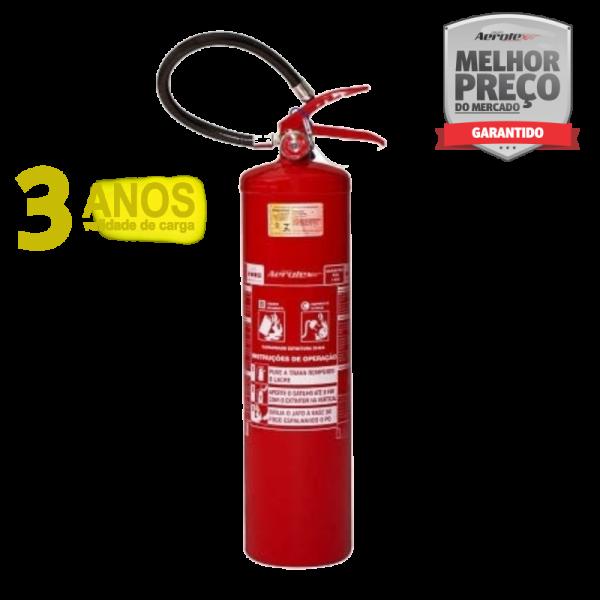 Extintor PÓ ABC - PORTÁTIL - 6A-40BC - EN092 - 12Kg - Uso Veicular e Marítimo - Micro-Onibus- Onibus - Caminhão