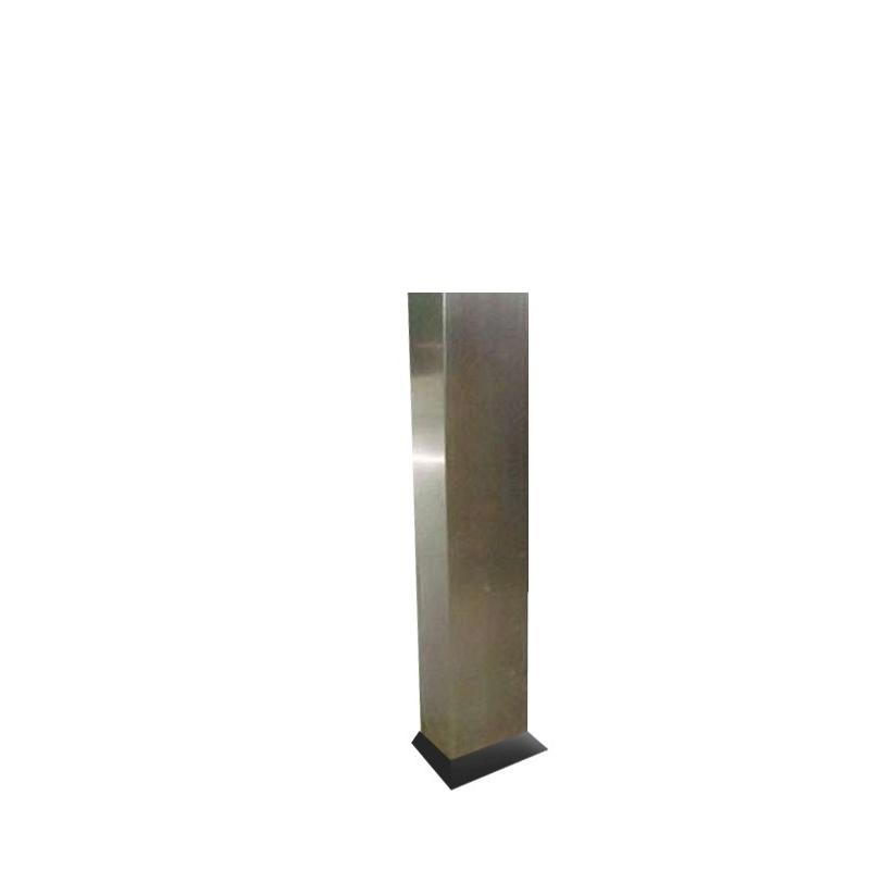 Pedestal em Aço Inox para Abrigo de Mangueira 90x60x17 - 150cm de Altura - MH444